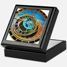 Astronomical clock, artwork Keepsake Box