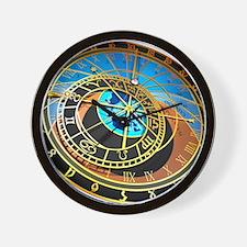 Astronomical clock, artwork Wall Clock