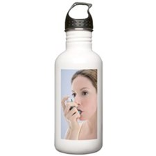 Asthma inhaler use Water Bottle