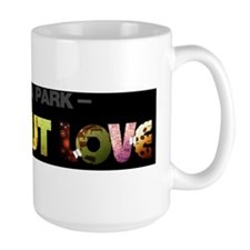 Flat-Out Love, The Book - Long Logo, Bl Mug
