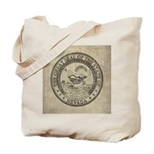 Vintage Nevada Tote Bag