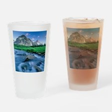 Mount Assiniboine Drinking Glass