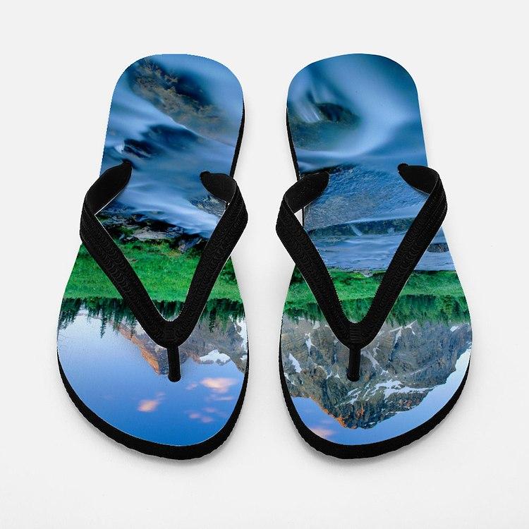 Mount Assiniboine Flip Flops