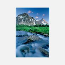 Mount Assiniboine Rectangle Magnet