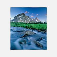 Mount Assiniboine Throw Blanket