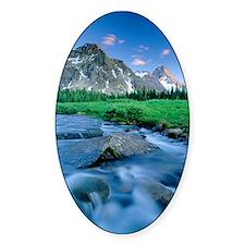 Mount Assiniboine Decal