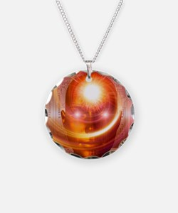 Artificial intelligence, art Necklace