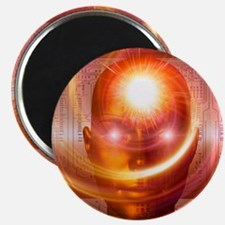 Artificial intelligence, artwork Magnet