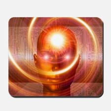 Artificial intelligence, artwork Mousepad
