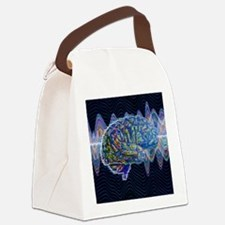 Artificial intelligence, artwork Canvas Lunch Bag