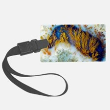 Moss agate Luggage Tag