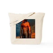 Model of a male Homo erectus man Tote Bag