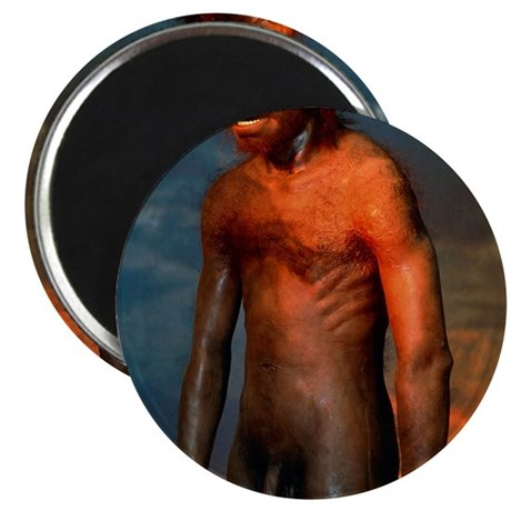 Model of a male Homo erectus man Magnet