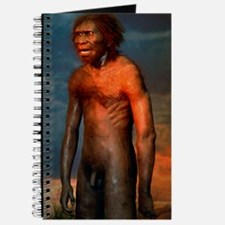 Model of a male Homo erectus man Journal