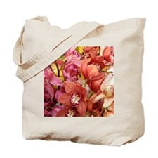 Mixed orchids Tote Bag