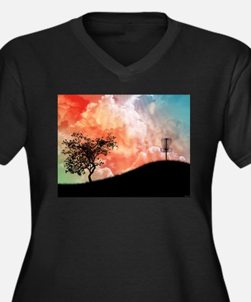 Basket On A Hill Plus Size T-Shirt