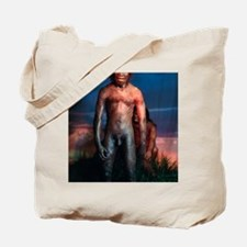 Models of Homo erectus men Tote Bag