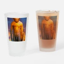 Models of Homo erectus men Drinking Glass