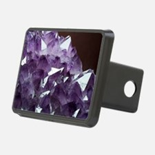 Amethyst crystals Hitch Cover