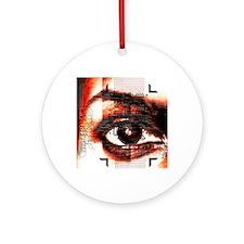 Artificial intelligence, artwork Round Ornament