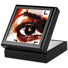 Artificial intelligence, artwork Keepsake Box