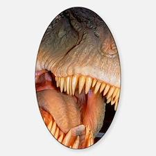 Model head of the dinosaur, Tyranno Decal