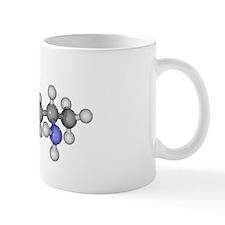 Amphetamine drug, molecular model Mug