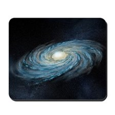 Milky way galaxy, artwork Mousepad