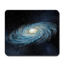 Milky way galaxy, artwork Mousepad