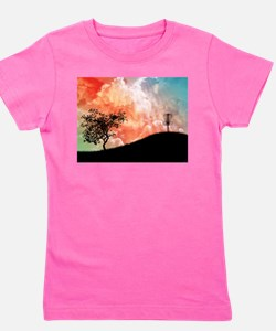 Basket On A Hill Girl's Tee