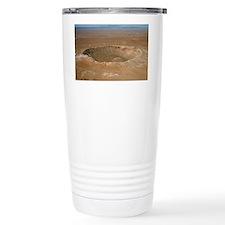 Meteor crater, Arizona Travel Mug