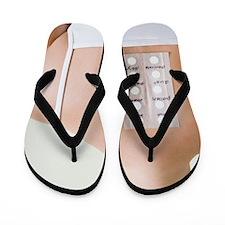 Allergy test Flip Flops