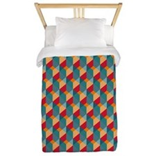 Optical Steps Bold Twin Duvet