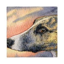 Brindle whippet greyhound dog Queen Duvet