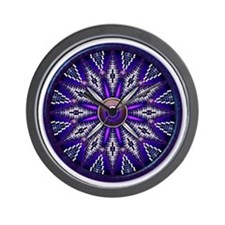 Native American Rosette 010 Wall Clock