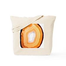 Agate slice Tote Bag