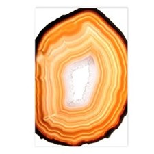 Agate slice Postcards (Package of 8)