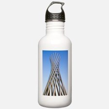 Metal sculpture at Fer Water Bottle