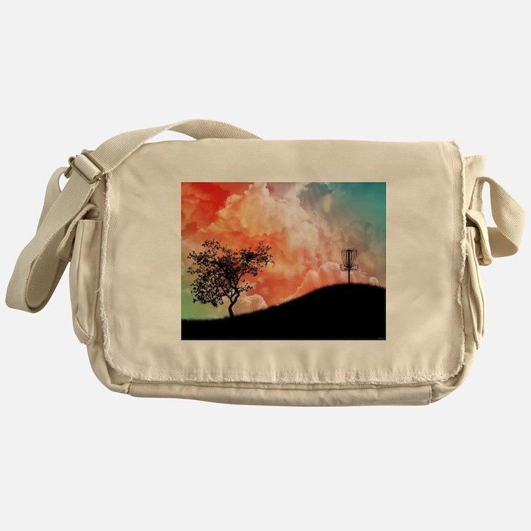 Basket On A Hill Messenger Bag