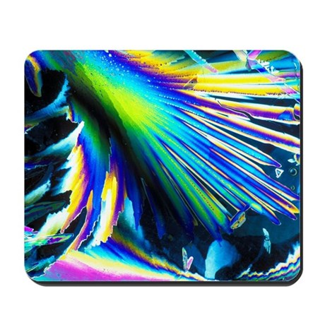 Melting ice crystals Mousepad