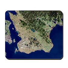 Malmo, satellite image Mousepad