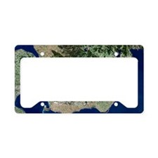 Malmo, satellite image License Plate Holder
