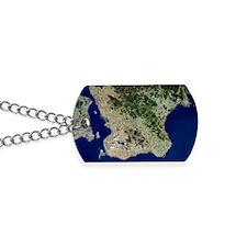 Malmo, satellite image Dog Tags