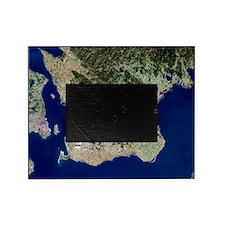 Malmo, satellite image Picture Frame