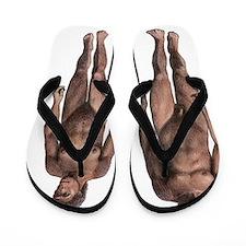 Male and female Homo habilis Flip Flops