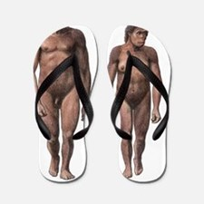 Male and female Homo habilis Flip Flops