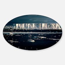 Massive tabular iceberg in Weddell  Decal