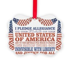 Pledge of Allegiance Ornament