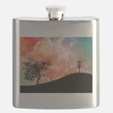 Basket On A Hill Flask