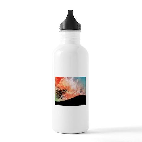 Basket On A Hill Water Bottle